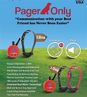 PG-300 Pager Only 1 Dog 1/2 Mile Remote Dog Trainer