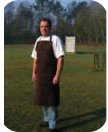 Leather Helper Apron  WS