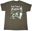 SALE - RedLine K9 Hold & Bark t-shirt Olive
