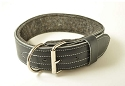 SALE - RedLine K9 LC1 Ultra Leather Dog Collars with Felt