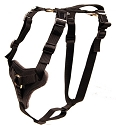 RedLine K9 Nylon and Leather Dog Harness