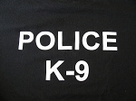 Police K9 t-shirt WS
