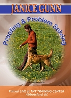 Janice Gunn's Proofing and Problem Solving Obedience Training DVD