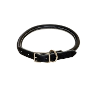 SALE - RedLine K9 Adjustable Rolled Leather Collar