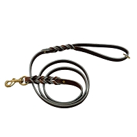 RedLine K9 Soft Premium Leather Leash