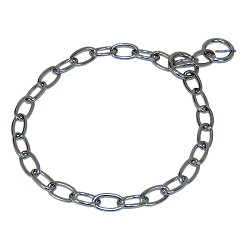 RedLine K9 Stainless Steel Fursaver Collar - 3MM Short Links