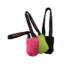 "RedLine K9 Bite Suit Tug Toy (3"" x 4"") 1 Handle DFL4"
