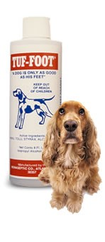 Tuf Foot - Dog paw and pad care. Protect your dog's feet.