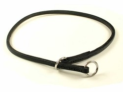 SALE - RedLine K9 Light Weight Leather Slip Collar