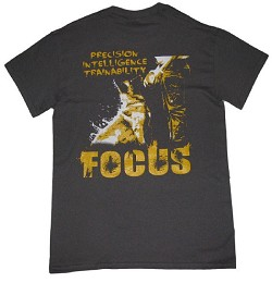 RedLine K9 Focus t-shirt Charcoal