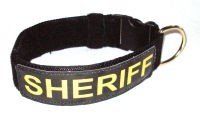 RedLine K9 Service Dog ID Collars - Collar ONLY