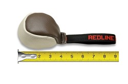 RedLine K9 Small Soft Leather Ball with handle