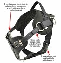 Yurkiw Protection and tracking Dog Harness