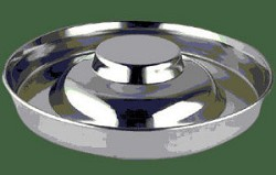 Stainless Steel Flyer Saucer Puppy feeding Pan