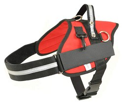 RedLine K9 Red Service Dog Harness