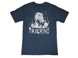 Redline K9 Tracking German Shepherd Denim Blue T-shirt