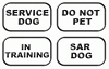 K9 ID Badges For Collars