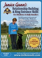 Janice Gunn's Relationship Building & Ring Entrance Skills for Dog Obedience & Rally Dog Handlers