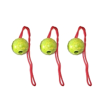 Bundle Of 3 Medium EURO Rubber Loop Handle Balls
