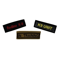 RedLine K-9 Harness ID Panel