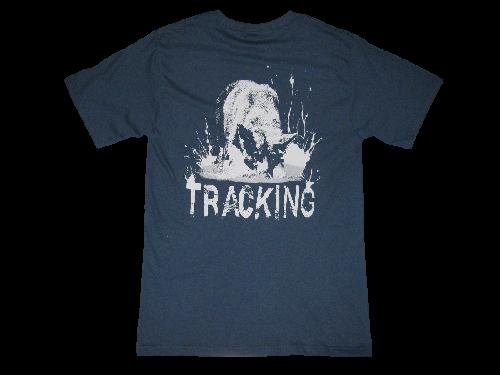 SALE - Redline K9 Tracking German Shepherd Denim Blue T-shirt