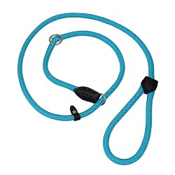 RedLine K9 Nylon Slip Lead - Blue