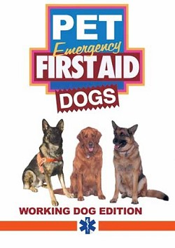 Pet Emergency First Aid Working Dogs DVD