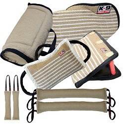 Redline K9 Pro 8 Piece Dog Protection Bundle RDL1047